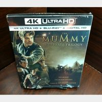 Mummy Trilogy 4KUHD iTunes Digital Code Only – Redeems on iTunes