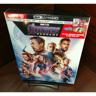 Marvel's Avengers Endgame 4K (Disney Movie Reward Points redeemed)