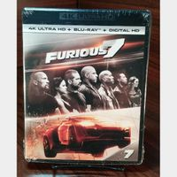 Furious 7  4K HD iTunes Digital Code Only – Redeems on iTunes
