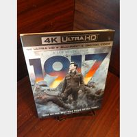 1917 4KUHD Digital Code Only – Movies Anywhere