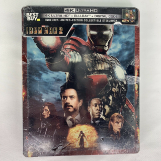 Marvel's Iron Man 2 4K Digital Code Only – Movies Anywhere/Vudu Only