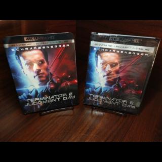 Terminator 2 4KUHD (Vudu/iTunes/GooglePlay/Fandango)