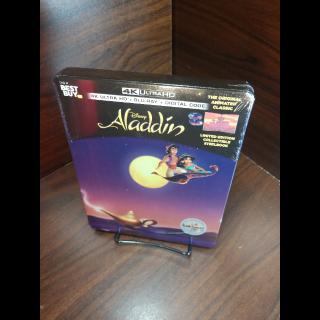Disney's Aladdin 1992 4K Digital Code – Movies Anywhere/Vudu  (Full Code - Disney Points Redeemed)