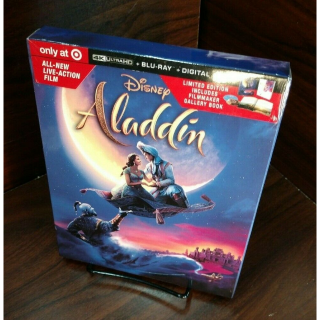 Disney's Aladdin 2019 4K Digital Code Only – Movies Anywhere/Vudu Only (Disney Point Redeemed)