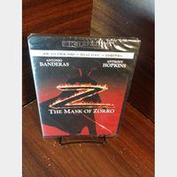 Mask of Zorro - 4K Digital Code  – Movies Anywhere