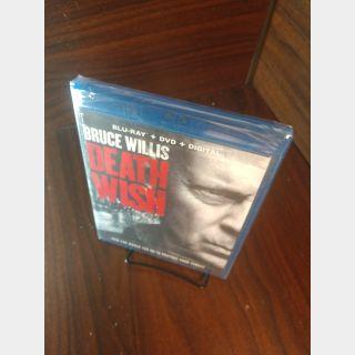 Death Wish 2018 HD Digital Code Only – Vudu/Google Play (Redeems on Fox site)