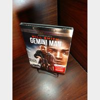 Gemini Man 4KUHD – iTunes Digital Code Only - Redeems on iTunes