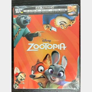 Disney's Zootopia 4K Digital Code Only – Movies Anywhere/Vudu (Full Code - Disney Points Redeemed)