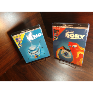 Disney's Finding Nemo + Finding Dory 4K Digital Code – Movies Anywhere/Vudu (Full Codes including Disney reward points)