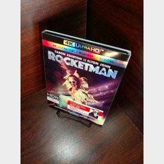 Rocketman (4KUHD) – Vudu Digital Code Only (Redeem on Paramount Site)