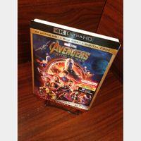 Marvel's Avengers Infinity War 4KUHD Digital Code – MoviesAnywhere (Full Code - Disney reward points redeemed)