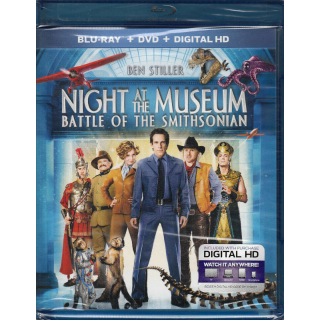 Night at the Museum 1 or Battle of the Smithsonian HD Digital Code Only – Vudu/Google Play