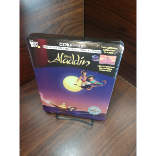 Disney's Aladdin 1992 4K Digital Code Only – Movies Anywhere/Vudu Only (Disney Points Redeemed)