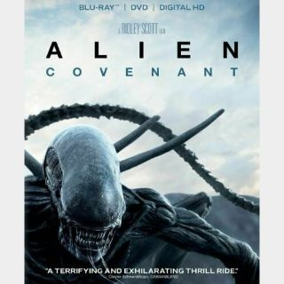 Alien Covenant HD Digital Code Only – MoviesAnywhere