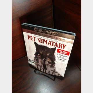 Pet Sematary 4KUHD – iTunes Digital Code Only (Redeems on iTunes)