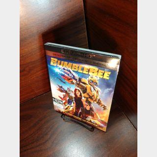Bumblebee 4KUHD – Vudu Digital Code Only