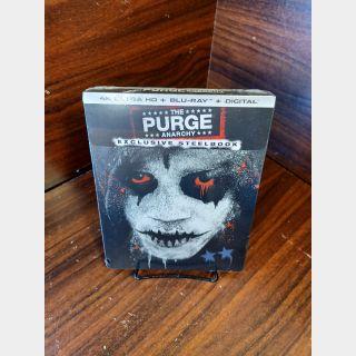 Purge Anarchy 4KUHD Digital Code (Movies Anywhere)