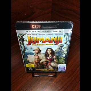 Jumanji 2017 4KUHD Digital Code – Movies Anywhere/Vudu