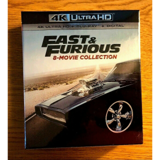 Fast and Furious 8 Movie Collection (4K HD Digital Code Only) – MoviesAnywhere
