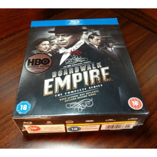 Boardwalk Empire Complete Series (HD) iTunes Digital Code Only (Redeems at iTunes)