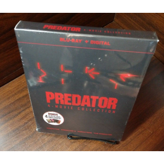 Predator 4 Movie Collection HD Digital Code Only – Movies Anywhere/Vudu