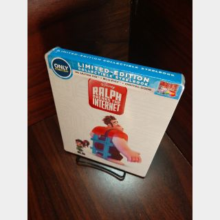 Disney's Ralph breaks the Internet 4K Digital Code Only – Movies Anywhere/Vudu (Full Code - Disney Reward points redeemed)