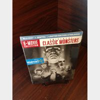 Universal Classic Monsters Collection 6 Movies HD Digital Code  – Movies Anywhere/Vudu