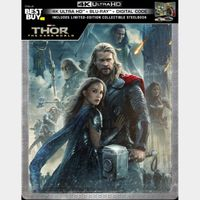 Marvel's Thor 2 4K Digital Code – Movies Anywhere/Vudu  (Full Code - Disney Points Redeemed)