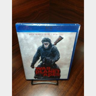 War for the Planet of the Apes HD Digital Code Only – Movies Anywhere/Vudu/Google Play/iTunes