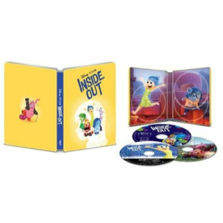 Disney's Inside Out 4K Digital Code  – Movies Anywhere/Vudu (Full Code - Disney reward points redeemed)