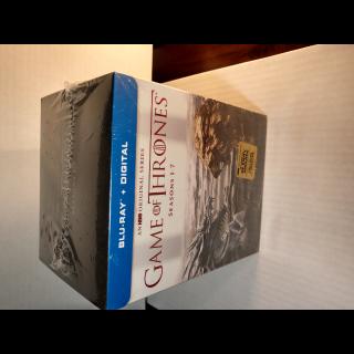 Game of Thrones - Seasons 1 - 7 (HD) Vudu Digital Code Only (Redeems at HBO Site)
