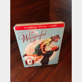 It's a Wonderful Life 4KUHD – Vudu Digital Code Only (Redeems on Paramount site)