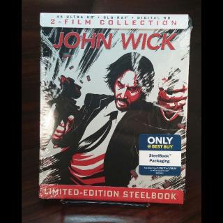 John Wick 2-Movie Collection (Vudu/iTunes/GooglePlay/Fandango)