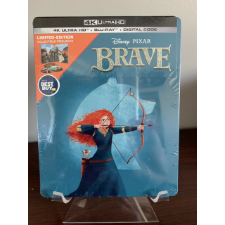 Disney's Brave 4K Digital Code Only – Movies Anywhere/Vudu Only (Disney reward points redeemed)