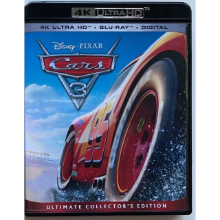 Disney's Cars 3 4K Digital Code Only – Movies Anywhere/Vudu Only