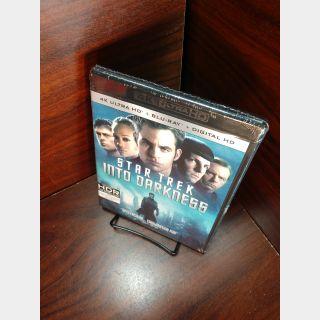 Star Trek into Darkness 4KUHD – Vudu Digital Code Only (Redeems on Paramount site)