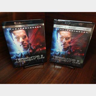 Terminator 2 4KUHD (Vudu/iTunes/GooglePlay/Fandango - Redeems on redeemmovie site)