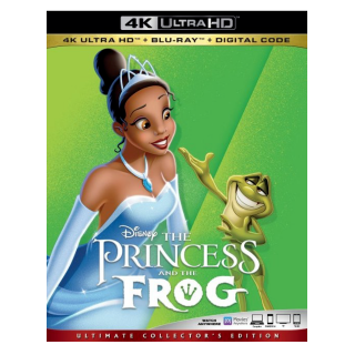 Disney's Princess and the Frog 4K Digital Code Only – Movies Anywhere/Vudu  (Full Code including Disney Reward Points)