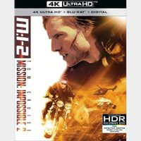 Mission Impossible 2 (4KUHD) – iTunes Digital Code Only (Redeem on iTunes)