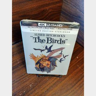 The Birds  4KUHD Digital Code Only – Movies Anywhere