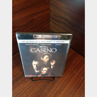 Casino 4KUHD Digital Code Only – MoviesAnywhere