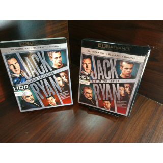 Jack Ryan 5 Movies 4KUHD – iTunes Digital Code Only (Redeems on iTunes)