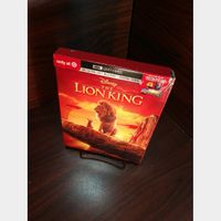 Disney's Lion King (2019) 4K HD Digital Code Only – MoviesAnywhere (Full Code including Disney Reward Points)