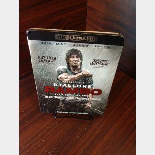 Rambo 4 (4KUHD Code Only) - Vudu/GooglePlay/Fandango (Redeems at MovieRedeem site)