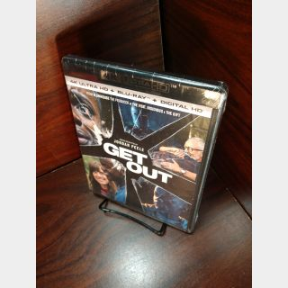Get Out 4KUHD iTunes Digital Code Only – Redeems on iTunes