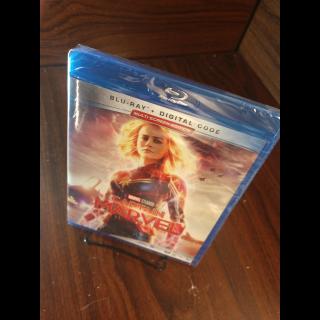 Captain Marvel HD (MoviesAnywhere - Disney Movie Reward Points redeemed)