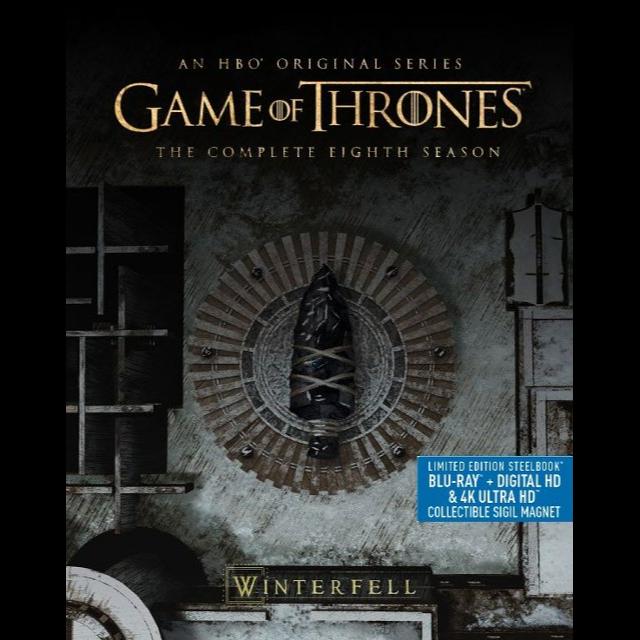 Game of Thrones - Seasons 8 (HDX) Vudu Digital Code Only