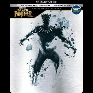 Marvel's Black Panther 4K Digital Code – Movies Anywhere/Vudu (Full Code - Disney reward points redeemed)