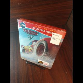 Disney's Cars 3 HD Digital Code Only – Movies Anywhere/Vudu (Full Code including Disney Reward Points)