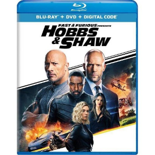Fast and Furious Presents: Hobbs and Shaw HD Digital Code Only – MoviesAnywhere